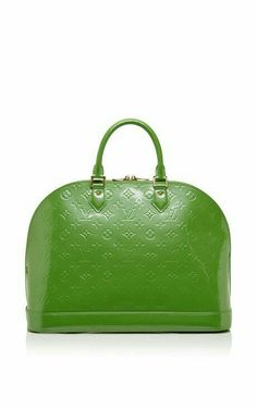 Vintage Louis Vuitton Green Vernis Alma Gm From What Goes Around Comes  Around by WGACA for Preorder on Moda Operandi 4e916fbbb6861