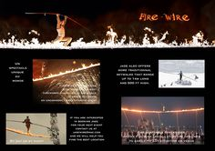 Book a one-of-a-kind performance mixing high-wire and pyrotechnic: FIRE-WIRE by Jade Kindar-Martin www.Fire-Wire.org World Records, Cool Pictures, Jade, Acting, Book, Book Illustrations, Books
