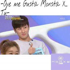 Imagen de kpop, monsta x, and me gusta