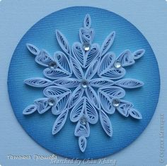 stranamasterov.ru/ The name of artist is written at the bottom on the left - Quilled Snowflakes (Searched by Châu Khang)