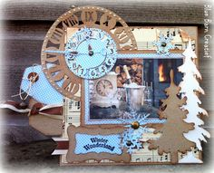 Blue Barn Creatief: Kaart: Winter Wonderland