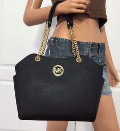 Michael Kors Hamilton Padlock Large Tote Bag Photograph