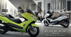 รุ่นและราคา Honda FORZA 300 บิ๊กสกู๊ตเตอร์ รุ่นปี 2015 Scooters, Honda, Biker, Fat, Motorcycle, Celebrities, Ideas, Motorbikes, Celebs