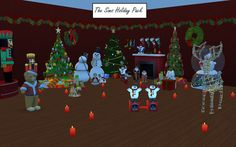 Sims 4 CC's - The Best: The Sims Christmas Holiday Pack by g1g2 - MTS