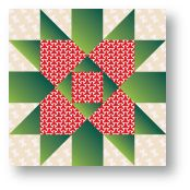 """Quilt Block Pattern - Providence- instructions-12"""" finished"""