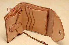 bag sewing patterns short wallet patterns PDF CDS03 by LZpattern