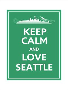 Is it time to go back yet? Can't wait!! This time, I'll take my Bear! He'll love seattle!