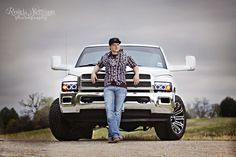 senior picture with truck | Senior Guy and his truck!! :) http://rondasimpsonphotography.com