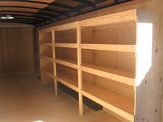 Enclosed trailer shelving ideas wolf industries photo gallery marvelous visualize like