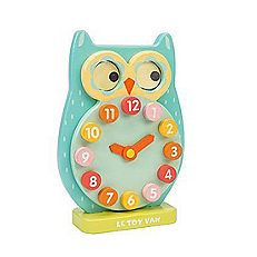 Blink Owl Clock by Le Toy Van