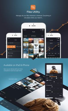 Files Utility iOS apps on Behance