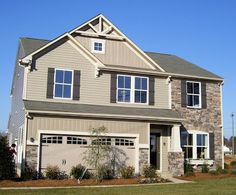 Our Road to a New Home: Building with Ryan Homes: Psst....Milan Builders Elevation L This is the one!