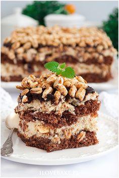 Rafaello na krakersach - I Love Bake Calzone, Tiramisu, Oreo, Cheesecake, Cooking Recipes, Sweets, Nutella, Ethnic Recipes, My Love