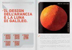 Il design dell'arancia e la luna di Galileo | sul magazine Spam tratto da @georgichejack