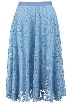 Plooirok - light blue