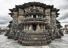 The Temple of Belur in South India