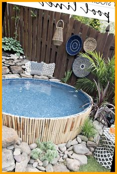 Remodeling Mobile Homes, Home Remodeling, Pool Storage, Outdoor Projects, Outdoor Decor, Sloped Yard, Stock Tank Pool, Pool Houses, Swimming Pools