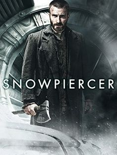 In a future where a failed global-warming experiment kills off most life on the planet, a class system evolves aboard the Snowpiercer, a train that travels around the globe via a perpetual-motion engine. Movies 2014, Netflix Movies, Movies Online, Movie Tv, Jamie Bell, Tilda Swinton, Chris Evans, The Snowpiercer, Alison Pill