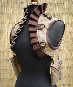 Women's Faux Snakeskin Shoulder Holster w/ by TreadleWorksDesigns, $120.00
