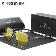 Night Vision UV400 Driving Sunglasses – fingla.com Sunglasses Price, Luxury Sunglasses, Polarized Sunglasses, Mirrored Sunglasses, Mens Sunglasses, Glasses Brands, Night Vision, Lenses, Branding Design