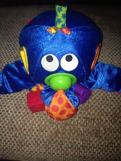 Baby Toy Quest Blue Octopus Talking Plush Stuffed Animal Musical Alphabet Shapes in Developmental Baby Toys | eBay