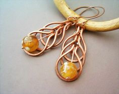 Copper and Yellow Agate