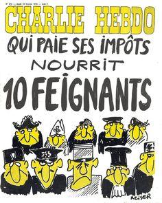 Charlie Hebdo - # 275 - 19 Février 1976 - Couverture : Reiser