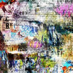Street art wallpaper - rebel walls