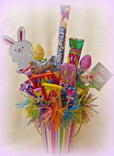 CRAFTECAFE SCRAPPINWMN PREMADE SCRAPBOOK EASTER CANDY BOUQUET GIFT  ELITE4U