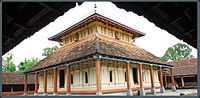 Architecture of Kerala - The square shaped Sreekovil of Temple-http://en.wikipedia.org/wiki/Architecture_of_Kerala