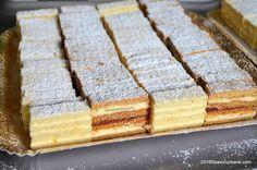 Platou prajituri alba ca zapada si albinita dulcineea My Recipes, Cookie Recipes, Dessert Recipes, Eastern European Recipes, Sweet Cooking, White Cakes, Good Food, Yummy Food, Romanian Food