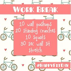 FitGirlsGuide: 28 Day Jumpstart - Dear Fit Girl Students and Desk Workers and anyone who needs a boost of energy … Here's a littl - Mini Workouts, Easy Workouts, At Home Workouts, Exercise Workouts, Fitness Workouts, Excercise, Fit Girls Guide Recipes, Fitness Tips, Fitness Motivation