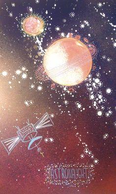 Space painting #painting #spray