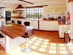 Self Catering accommodation, Noordhoek, Cape Town Spacious kitchen Cape Dutch, Cape Town, Corner Desk, Catering, Villa, Kitchen, Table, Furniture, Home Decor