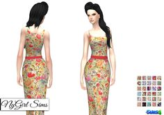 Sims 4 CC's - The Best: Dress by Ny Girl Sims