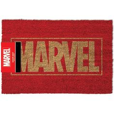 Marvel - Logo  - doormat - dimensions approx. 40 x 60 cm - material: PVC and coconut fibre  Since 1939, the ladies and gentlemen of the comic publisher Marvel have been providing us with exciting stories of superheroes and villains, so we think that they deserve to find their company name on the Marvel doormat after all these years. If you're an avid fan, this mat is the perfect choice for you.