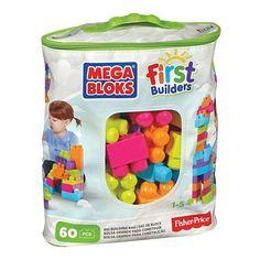 Kids Mega Bloks Trendy Big Building Bag - (Sale Savings)