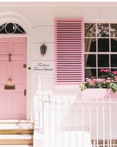The Gal Meets Glam Ultimate London Travel Guide - Gal Meets Glam London Places, Pink Houses, Everything Pink, Do It Yourself Home, Elegant Homes, House Goals, London Travel, Pink Aesthetic, How To Take Photos