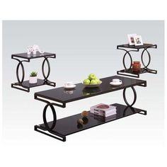 Coffee Table Set Furniture End Side Sofa Living Room Home Modern Decor 3 Piece #CoffeeTableSet #Modern