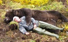 The Bear that Killed a Bear. Voted favorite 'Larry's Short Story' by MidwayUSA customers. | Outdoor Channel