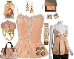 'soft peach to topaz to honey'- Soft Autumn color by Lora Alexander