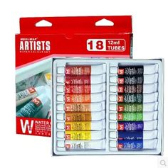 27.87$  Watch more here - http://ai7dm.worlditems.win/all/product.php?id=32611666116 - Smith barney Professional Watercolour Pigment Using High Quality Natural Plant Gum Tinting Strength Strong 18/12 Color/Set