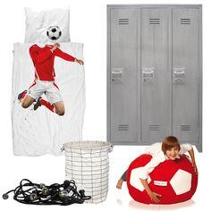 Tips voor een geweldige Voetbalkamer #kinderkamer #jongenskamer #kinderkamerstyling #inspiratie
