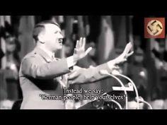 Hitler Speech To The World