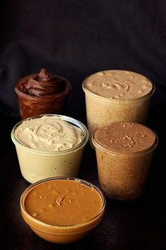How-to Make Homemade Nut Butters - To make low carb use your favorite Sugar Free Sweetener instead of those listed.