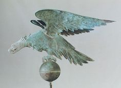 A Monumental Spread Winged Eagle Weathervane