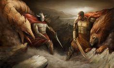 good vs evil by ali-tunc.deviantart.com on @deviantART