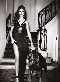 This is exactly how I will look with my Doberman haha ;-)