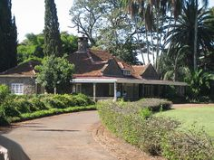 Isak Dinesen's home--Karen, Nairobi, Kenya