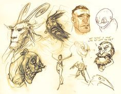 Joshua Middleton Online: sketches